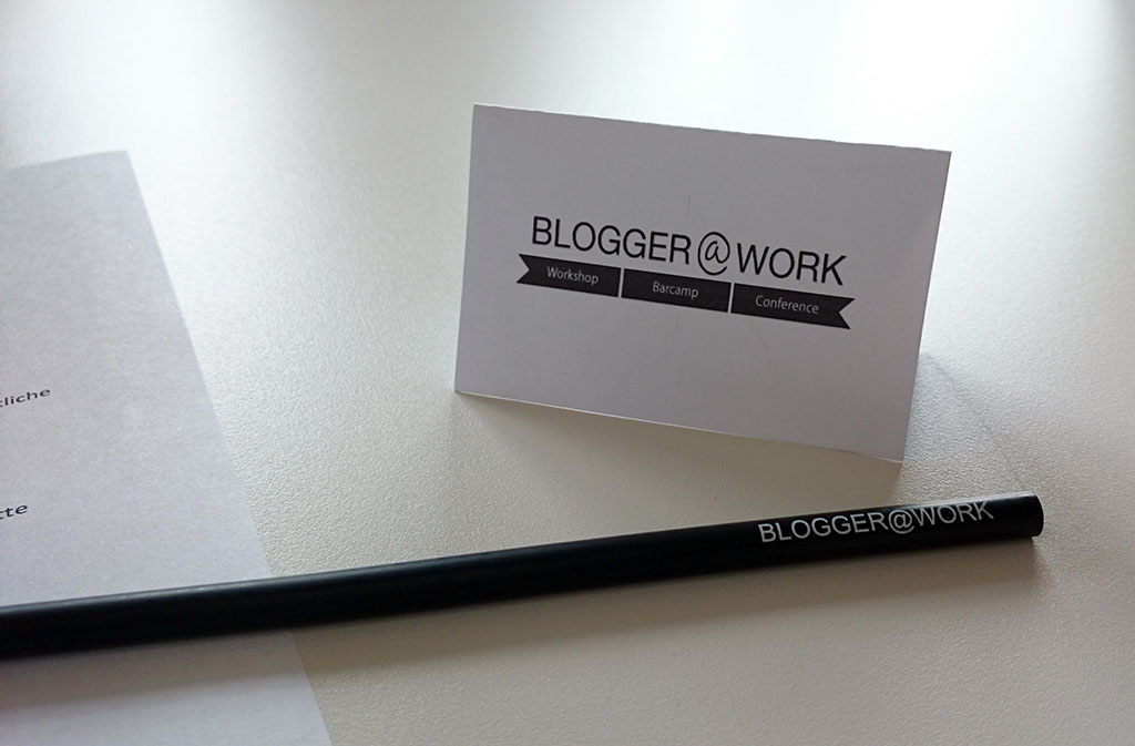 Blogger at Work